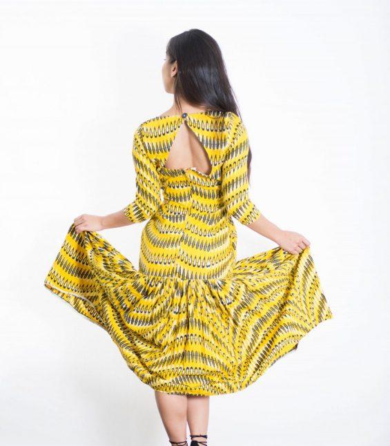 DSC 3479 e1533780536540 565x646 - Ankara fashion African Print Maxi Dress