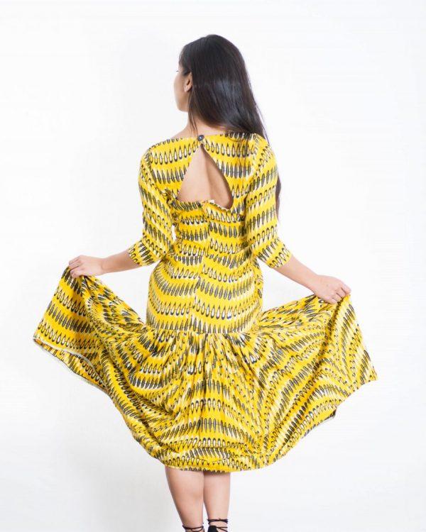 DSC 3479 e1533780536540 600x750 - Ankara fashion African Print Maxi Dress