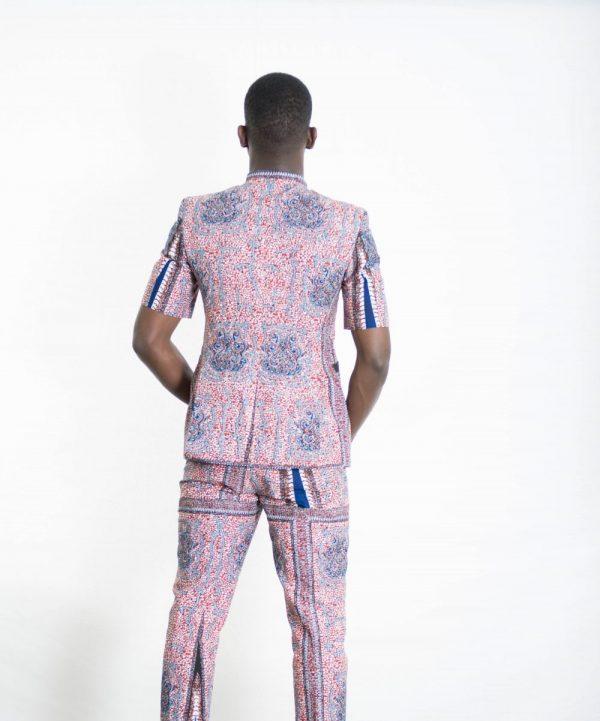 DSC 3638 e1533605898443 - African Print Suit Custom Mens African suit 2 Piece Suit