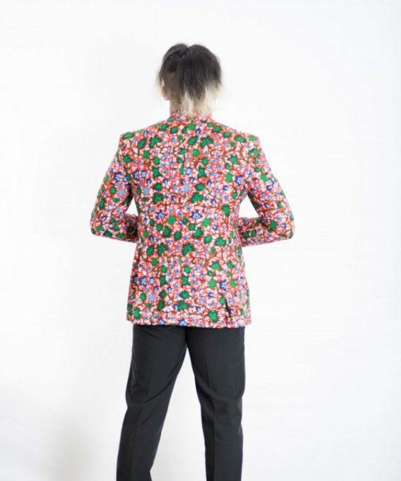 DSC 3754 e1533606310188 565x679 - African Print Suit Custom Mens African suit 2 Piece Suit