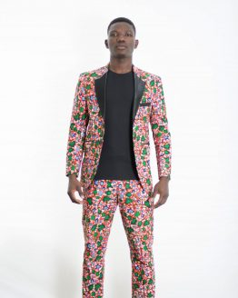 DSC 3808 e1533859979268 262x328 - Boss Blazer -African Print Ankara with Black Lapel Design