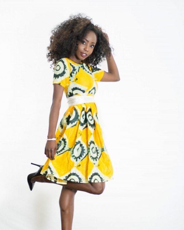 DSC 3820 e1533782594496 600x750 - African Print Dress