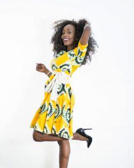 DSC 3821 e1533784197256 262x328 - African Print Dress
