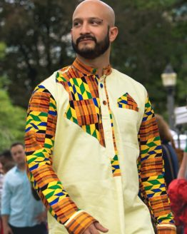 DSC 4360 R e1533607144645 262x328 - African Dress Shirt Dashiki Kente African Wax Print Shirt design