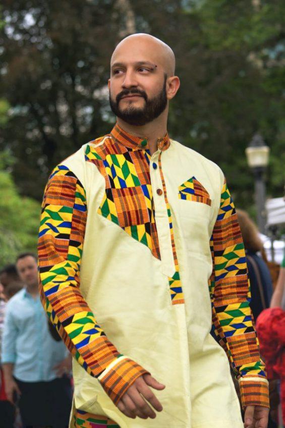 DSC 4360 R e1533607144645 565x848 - African Dress Shirt Dashiki Kente African Wax Print Shirt design